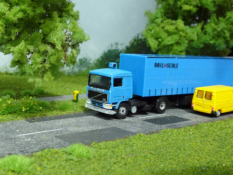 N Scale - RAILNSCALE - N2320 - Truck, Volvo, F10 - Undecorated