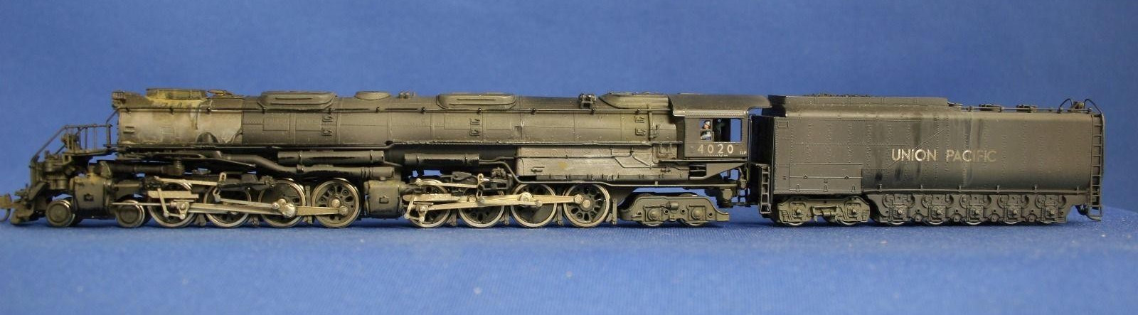 N Scale - Key - UP #4020 - Locomotive, Steam, 4-8-8-4 Big Boy - Union Pacific - 4020