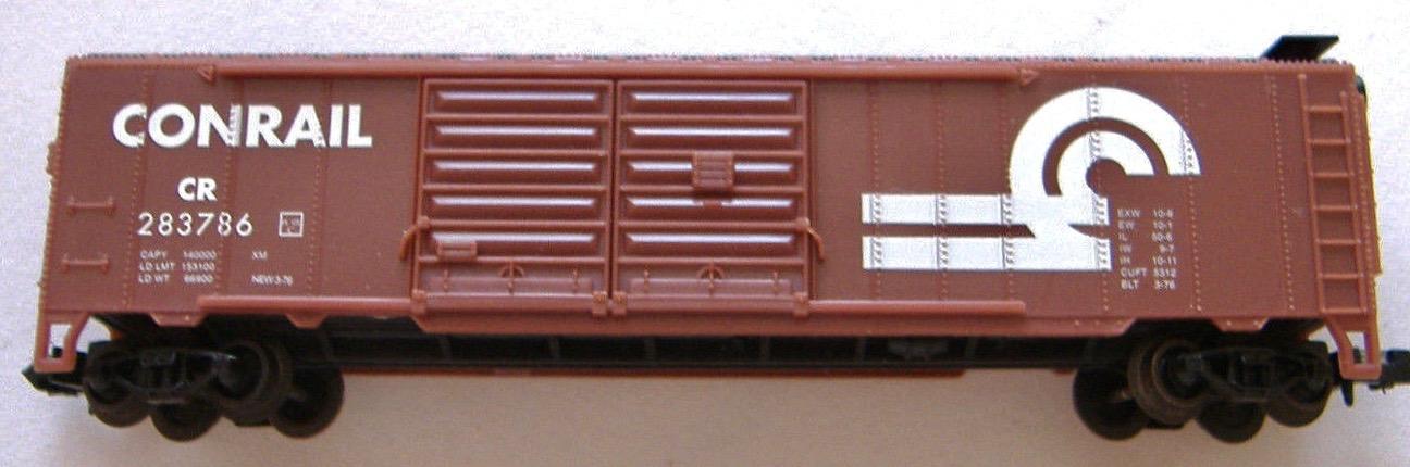 N Scale - Industrial Rail - 7793CR - Boxcar, 50 Foot, Steel, Double Door - Conrail - 283786