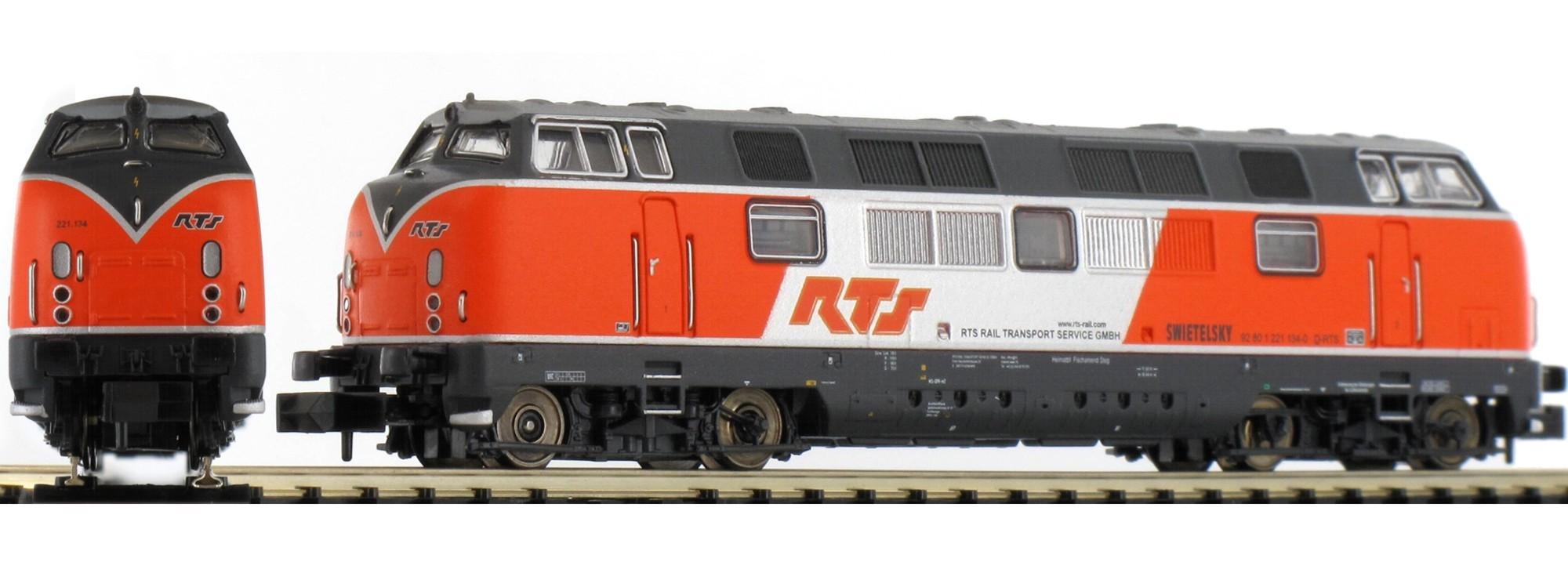 N Scale - Minitrix - 16202 - Locomotive, Diesel, DB V200 - RP Transfer - 221 134-0
