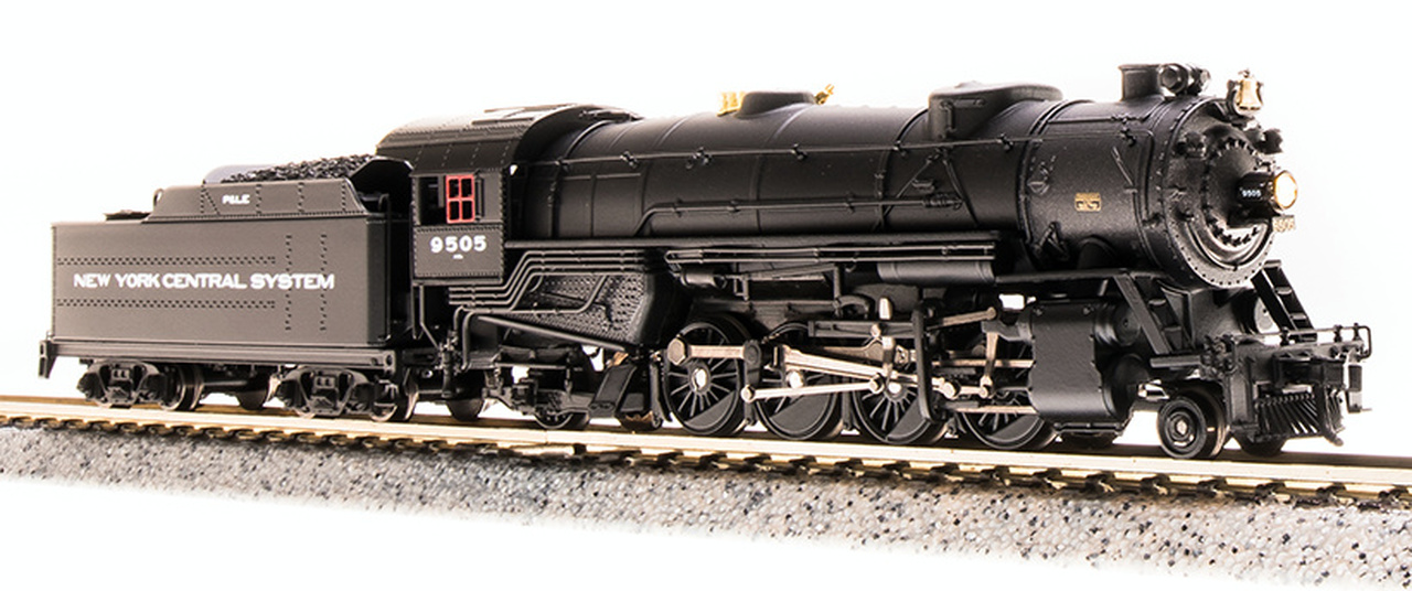 N Scale - Broadway Limited - 5711 - Locomotive, Steam, 2-8-2 Heavy Mikado - New York Central Pittsburgh & Lake Erie - 9509