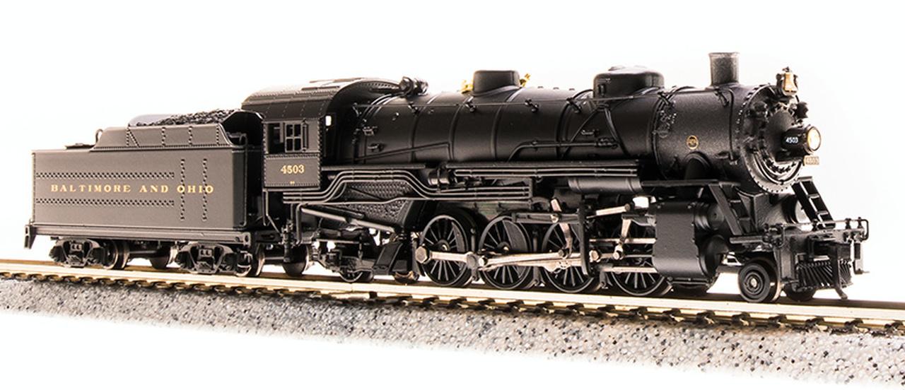 N Scale - Broadway Limited - 5720 - Locomotive, Steam, 2-8-2 Heavy Mikado - Baltimore & Ohio - 4503