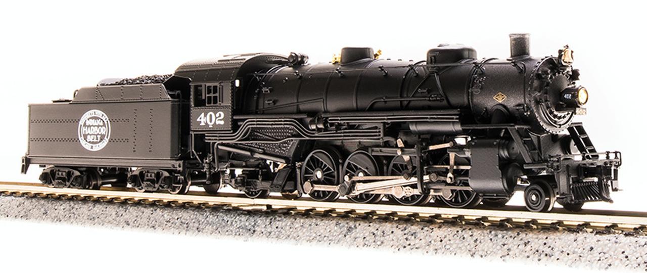N Scale - Broadway Limited - 5725 - Locomotive, Steam, 2-8-2 Heavy Mikado - Indiana Harbor Belt - 404