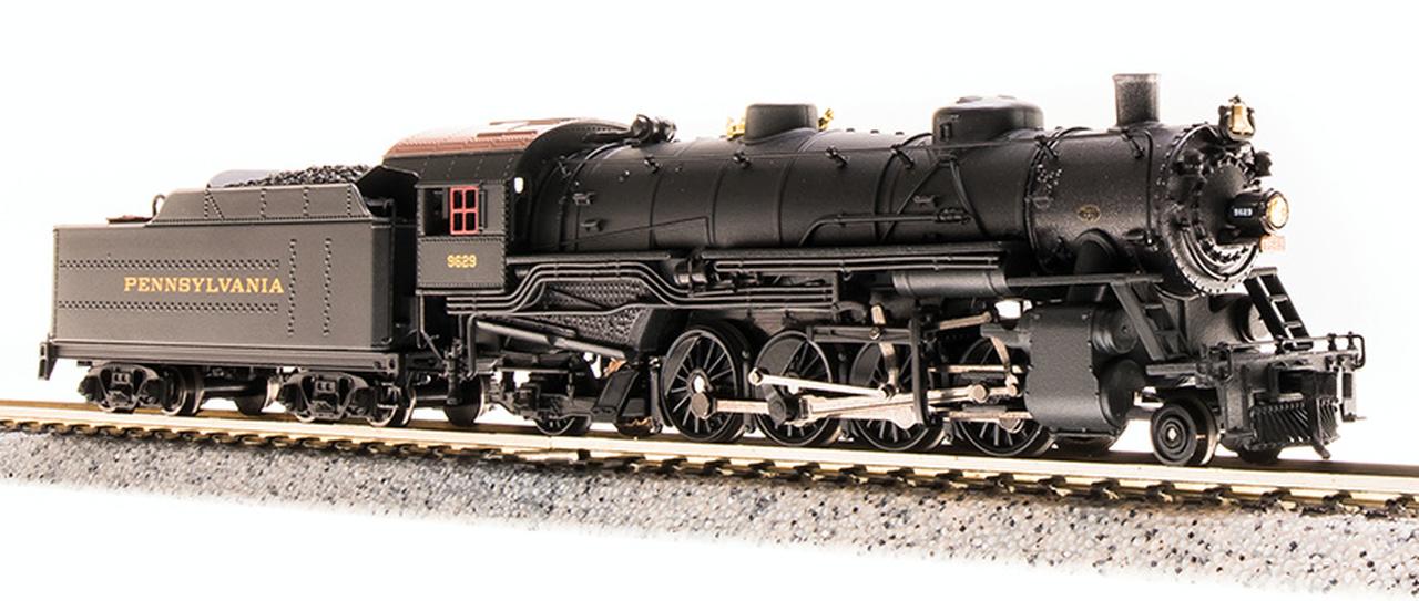 N Scale - Broadway Limited - 5726 - Locomotive, Steam, 2-8-2 Heavy Mikado - Pennsylvania - 9629