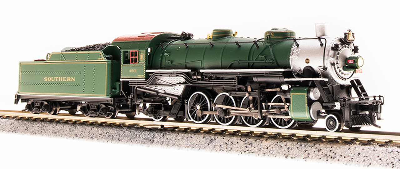 N Scale - Broadway Limited - 5728 - Locomotive, Steam, 2-8-2 Heavy Mikado - Southern - 4501