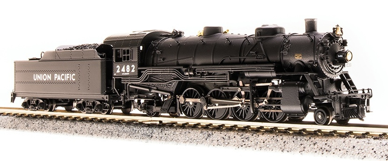 N Scale - Broadway Limited - 5730 - Locomotive, Steam, 2-8-2 Heavy Mikado - Union Pacific - 2490