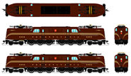 N Scale - Broadway Limited - 3448 - Locomotive, Electric, GG1 - Pennsylvania - 4856