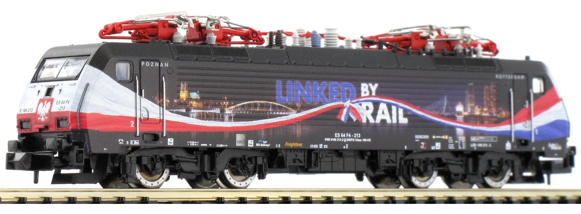 N Scale - Minitrix - 16895 - Locomotive, Electric, Siemens ES64 F4 (BR 189) - ERS Railways - ES 64 F4-206