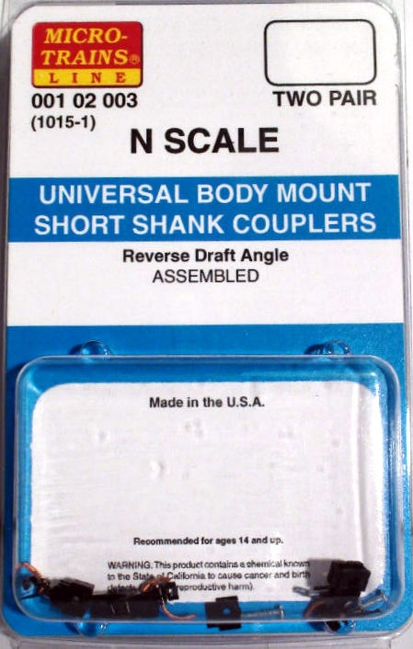 N Scale - Micro-Trains - 1015-1 - Couplers