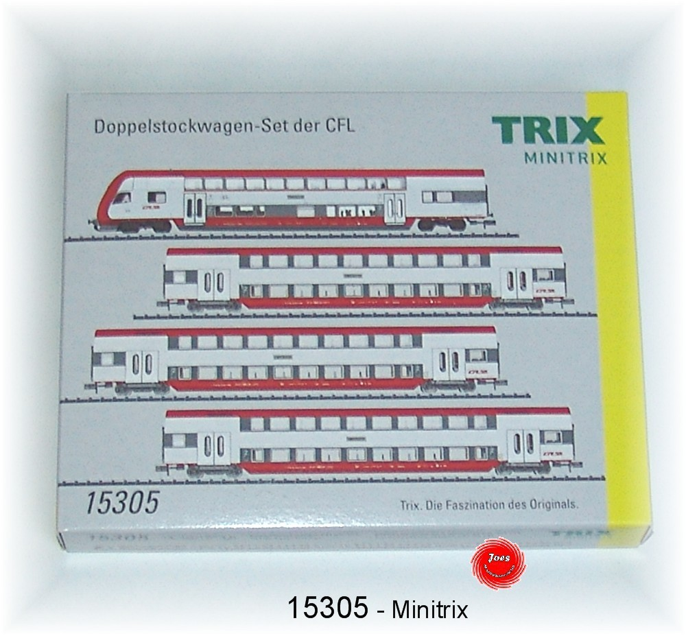 N Scale - Minitrix - 11305 - Passenger Car, DB, Epoch V - CFL - 4-Pack