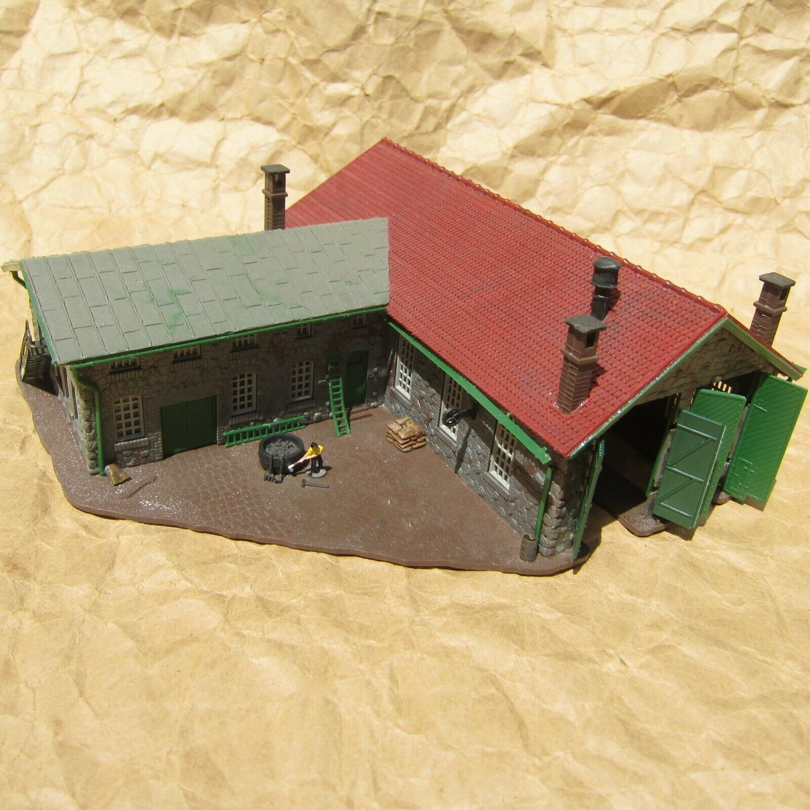 N Scale - Pola - 219 - House - Residential Structures - House