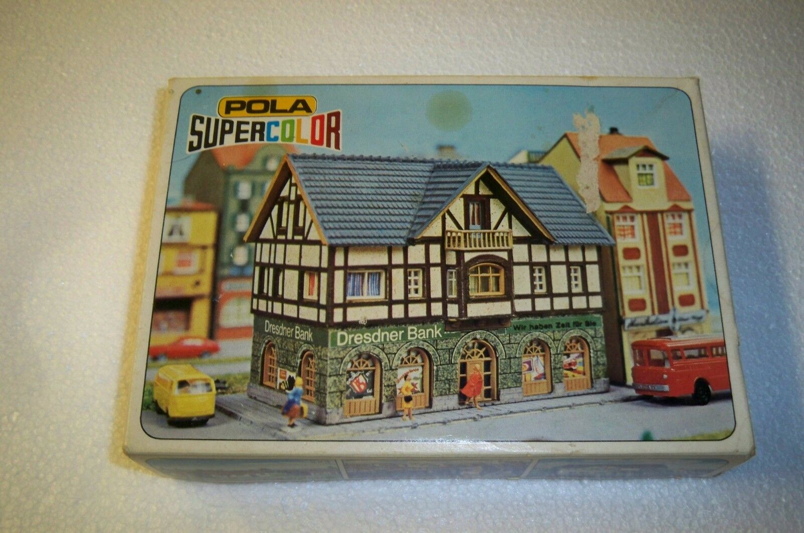 N Scale - Pola - 228 - Bank - Commercial Structures - Dresdner