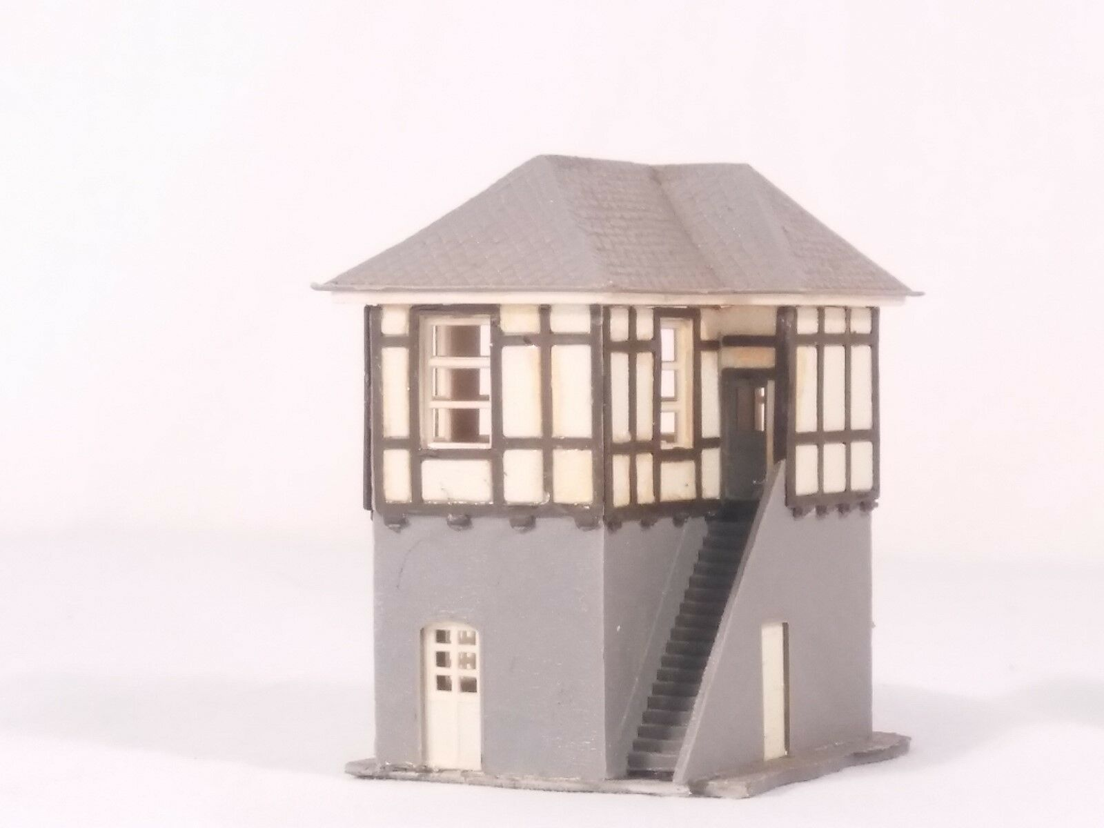 N Scale - Pola - 215 - Railroad Tower - Railroad Structures - Interlocking Tower