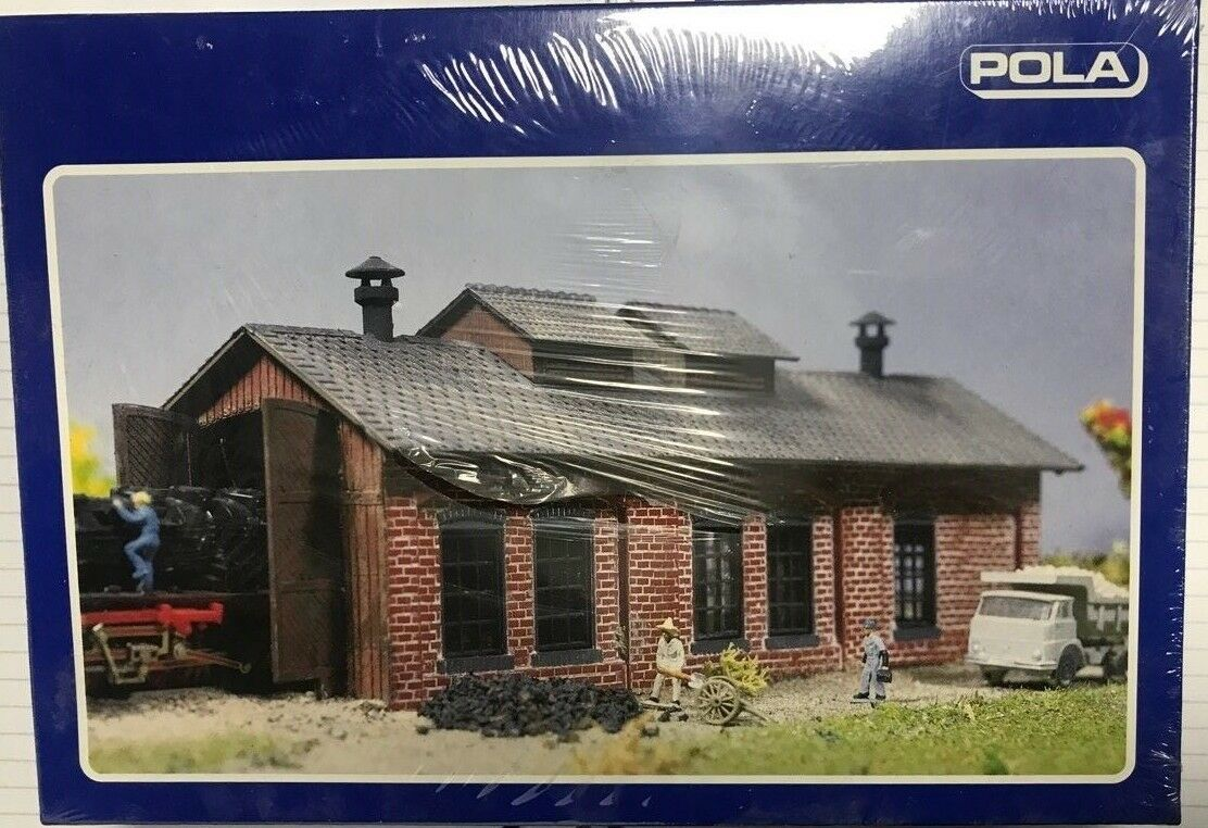 N Scale - Pola - 211 - Maintenance Shed - Railroad Structures - Maintenance Shed