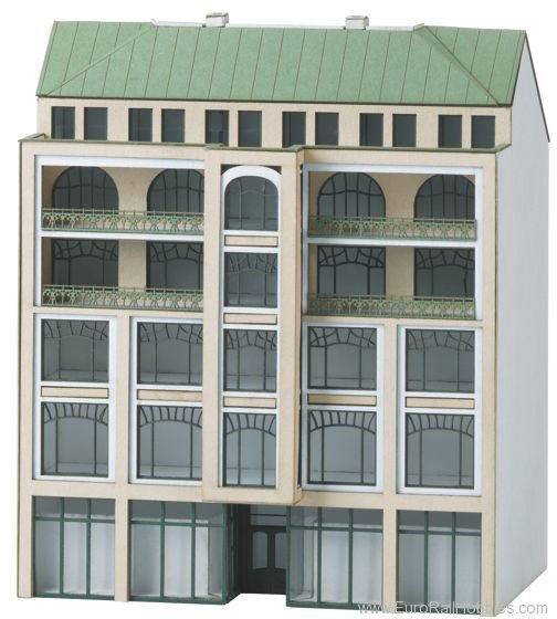 N Scale - Minitrix - 66307 - Row House - Residential Structures - Row House