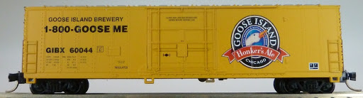 N Scale - Aztec - MB2047- 2 - Boxcar, 50 Foot, Fruit Growers Express - Goose Island Brewery - 60044