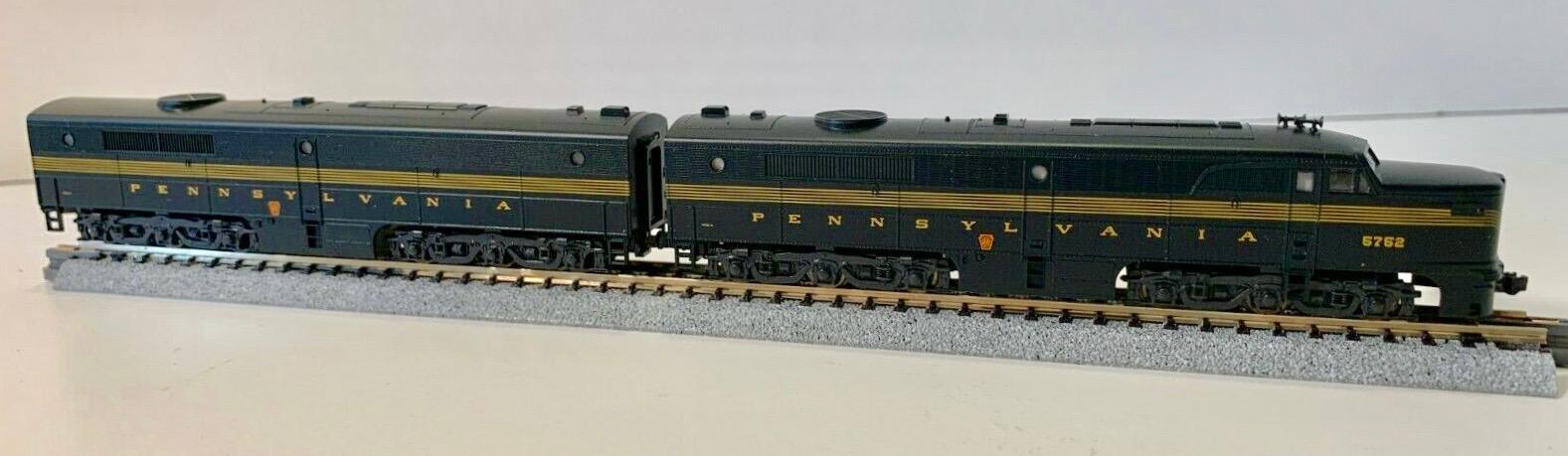 N Scale - Kato USA - 106-0703 - Locomotive, Diesel, Alco PA/PB - Pennsylvania - 5752, 5750B