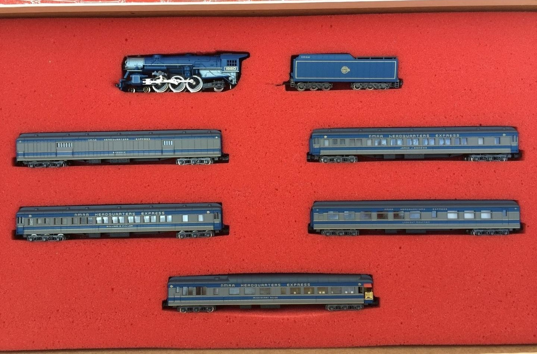 N Scale - Con-Cor - Limited Edition Set NMRA - Passenger Train, Steam, North American, Transition - NMRA - 6-Unit