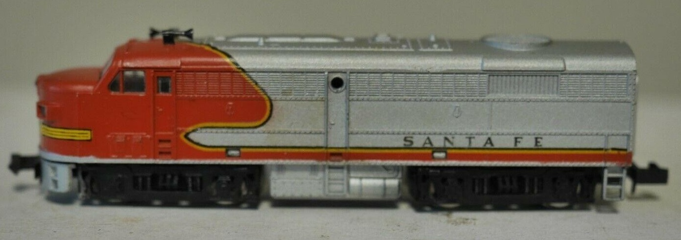 N Scale - MRC - 6961 - Locomotive, Diesel, Alco FA/FB - Santa Fe
