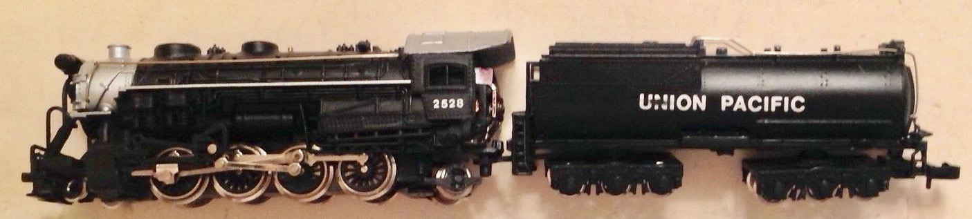 N Scale - Bachmann - 54551 - Locomotive, Steam, 2-8-2 Mikado - Union Pacific - 2528