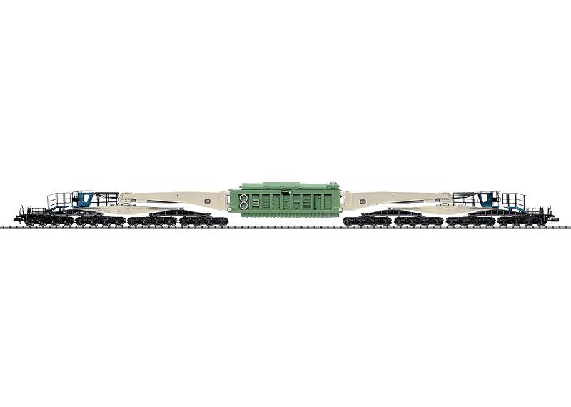 N Scale - Minitrix - 15248 - Schnabel Car, Uaai 839 - Deutsche Bundesbahn