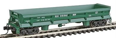 N Scale - Walthers - 932-8634 - Gondola, Difco Dump - Southern - 991981