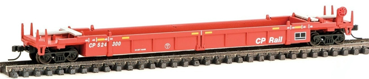 N Scale - Walthers - 932-8056 - Container Car, Single Well, Thrall Lo-Pac 48 - Canadian Pacific - 524122