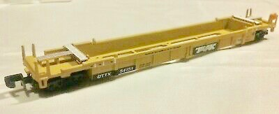 N Scale - Walthers - 932-8051 - Container Car, Single Well, Thrall Lo-Pac 48 - Trailer Train - 54107