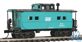 N Scale - Walthers - 932-50063 - Caboose, Cupola, Steel, NE - Penn Central - 18423