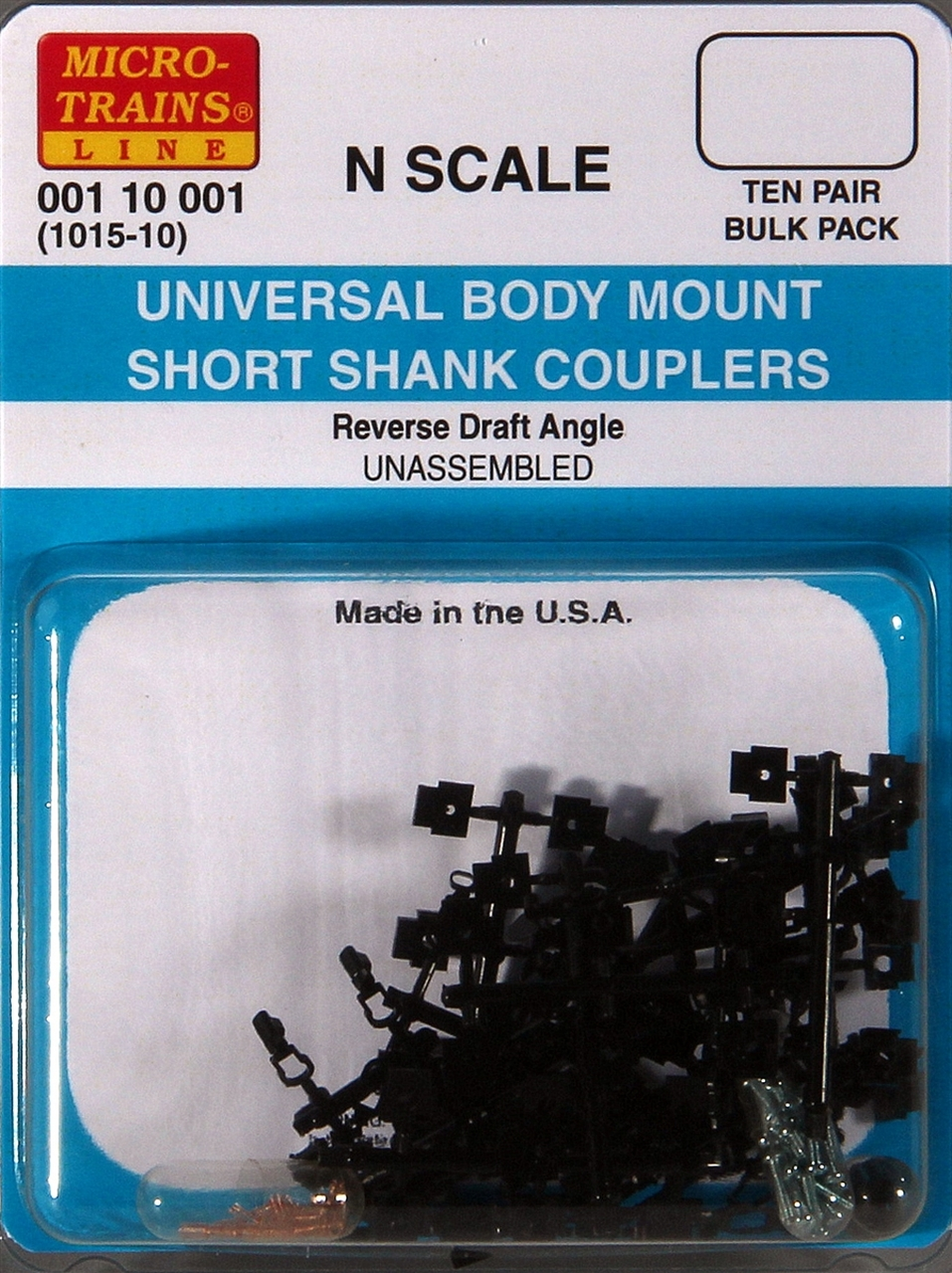 N Scale - Micro-Trains - 1015-10 - Couplers