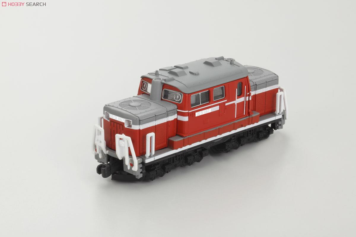 N Scale - Bandai - 2302930 - Locomotive, Diesel, JNR, DD51 - Japanese National Railways