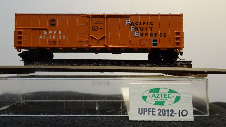 N Scale - Aztec - UPFE 2012-10 - Reefer, 50 Foot, Mechanical - Pacific Fruit Express - 453822