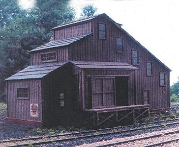 N Scale - Laser-Art - 886 - Flour Mill - Industrial Structures - Flour Mill