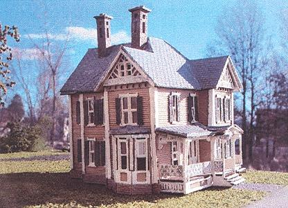 N Scale - Laser-Art - 800 - House - Residential Structures - Dubois House