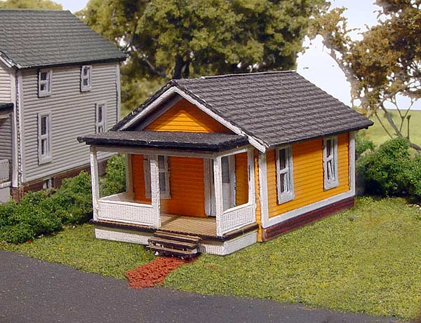 N Scale - Laser-Art - 824 - House - Residential Structures - Drayton House