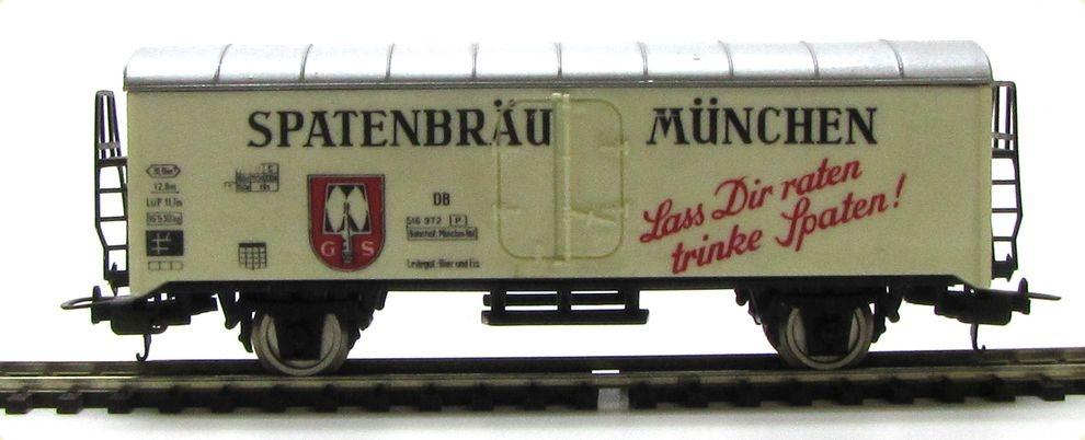 N Scale - Lima - 320649 - Reefer, 2-Axle, Beer Car - Deutsche Bahn - 516 972