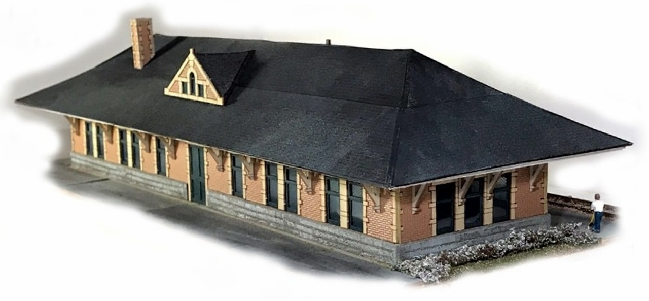 N Scale - N Scale Architect - 10049 - Station - Railroad Structures
