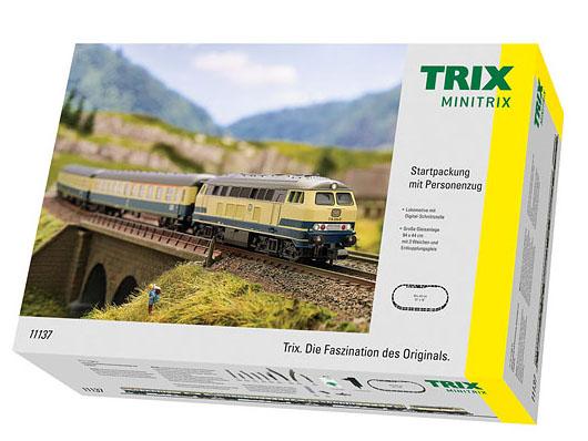 N Scale - Minitrix - 11137 - Passenger Train, Diesel, Europe, Epoch IV - Deutsche Bahn - 4-Unit Starter Set