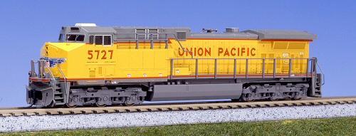 N Scale - Kato USA - 176-7005 - Locomotive, Diesel, GE AC4400CW - Union Pacific - 5727
