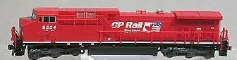 N Scale - Kato USA - 176-7211 - Locomotive, Diesel, GE AC4400CW - Canadian Pacific - 9524
