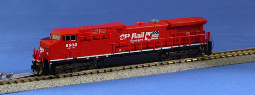 N Scale - Kato USA - 176-7211 - Locomotive, Diesel, GE AC4400CW - Canadian Pacific - 9502