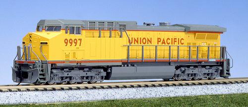 N Scale - Kato USA - 176-7033 - Locomotive, Diesel, GE AC4400CW - Union Pacific - 9997