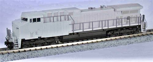 N Scale - Kato USA - 176-7030 - Locomotive, Diesel, GE AC4400CW - Undecorated - Undecorated