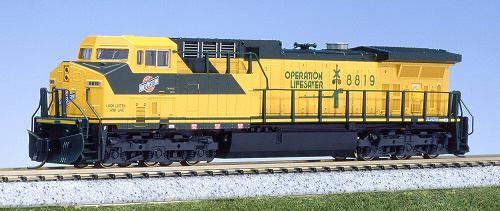N Scale - Kato USA - 176-7031 - Locomotive, Diesel, GE AC4400CW - Chicago & North Western - 8819
