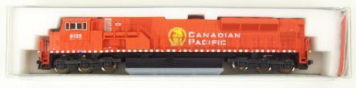 N Scale - Kato USA - 176-5602 - Locomotive, Diesel, EMD SD90MAC - Canadian Pacific - 9125