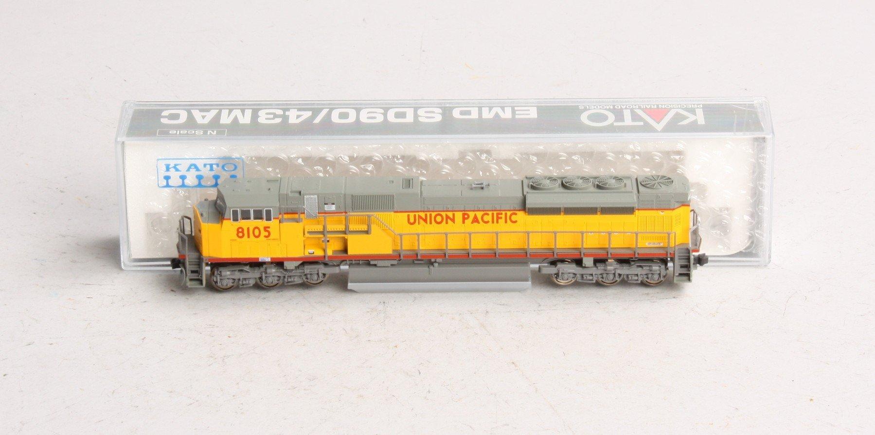 N Scale - Kato USA - 176-5606 - Locomotive, Diesel, EMD SD90MAC - Union Pacific - 8105
