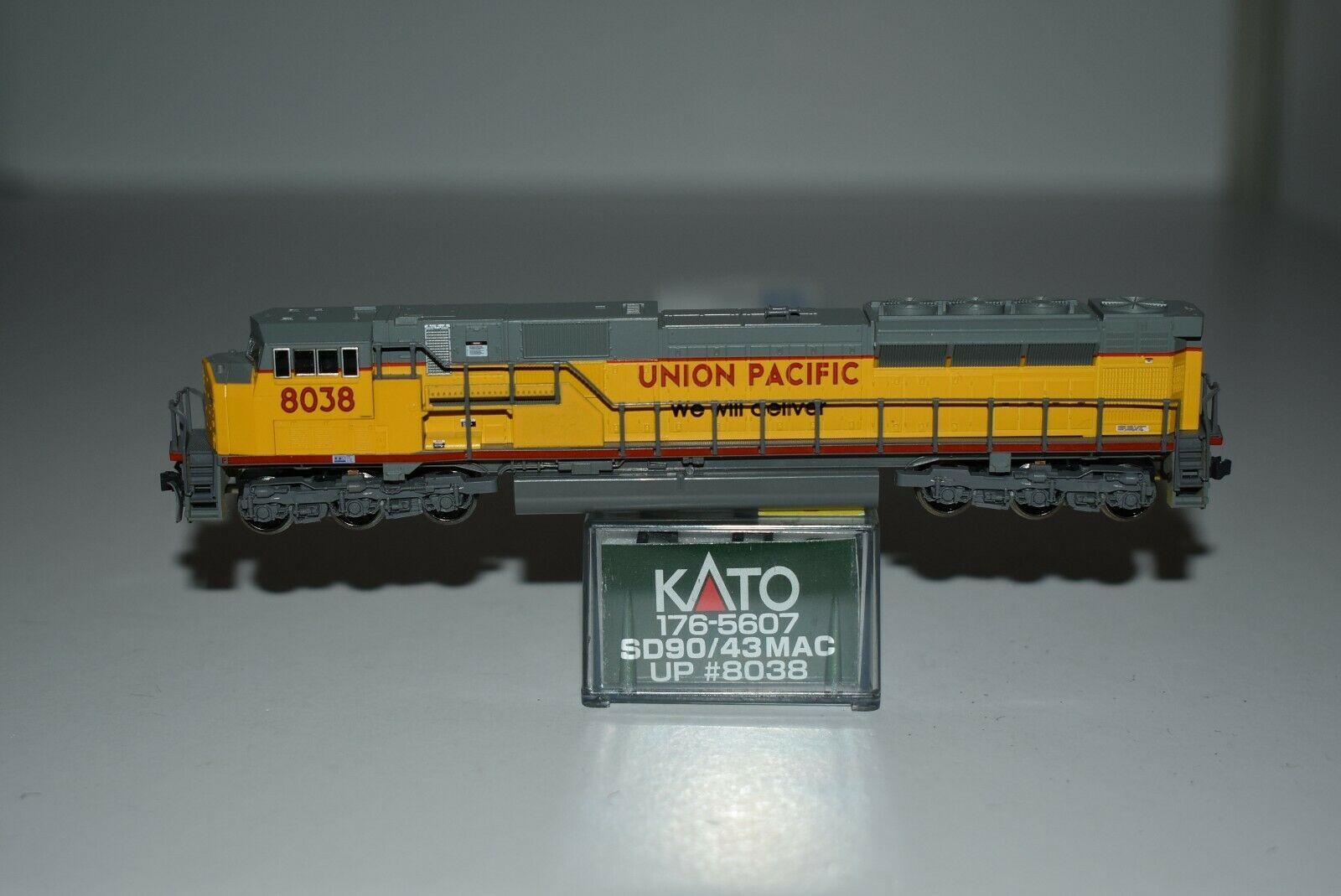 N Scale - Kato USA - 176-5607 - Locomotive, Diesel, EMD SD90MAC - Union Pacific - 8038