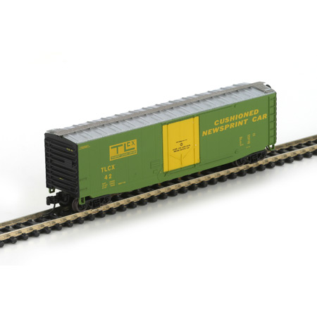 N Scale - Athearn - 14179 - Boxcar, 50 Foot, PS-1 - Transport Leasing Company - 42