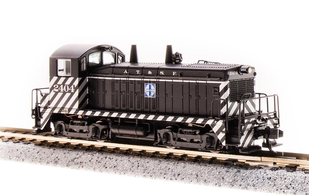 N Scale - Broadway Limited - 3861 - Locomotive, Diesel, EMD NW2 - Santa Fe - 2408