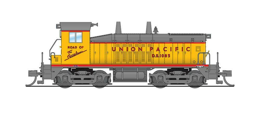 N Scale - Broadway Limited - 3870 - Locomotive, Diesel, EMD NW2 - Union Pacific - 1085